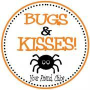 Bugs and Kisses Favor Tag